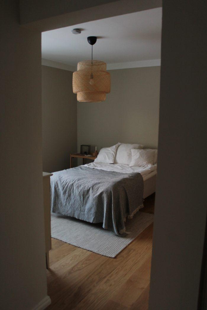 makuuhuone eteisestä